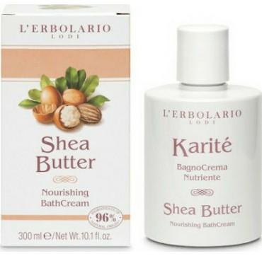 L' Erbolario Karite Shea Butter Bath Cream 300ml