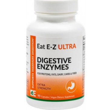 Dynamic Enzymes Eat E-z Ultra Extra Strength 90vcaps