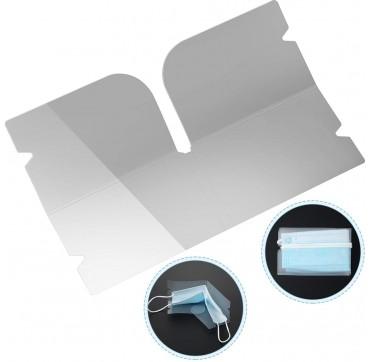 Mask Folder Πλαστική Θήκη Για Αποθήκευση Μάσκας 1τμχ