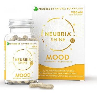 Neubria Shine Mood Συμπλήρωμα Διατροφής για Διάθεση & Ισορροπία 60caps