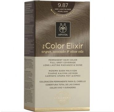 Apivita My Color Elixir 9.87 Πολύ Ανοιχτό Περλέ Μπέζ