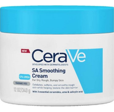 CeraVe SA Smoothing Cream For Dry, Rough Bumpy Skin 340gr