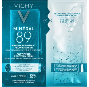 Vichy Mineral 89 Fortifying Recovery Mask 29g
