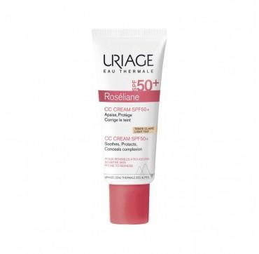Uriage Roseliane CC CREAM SPF50 Ενυδατική Προστατευτική Κρέμα Με Χρώμα 40ml.