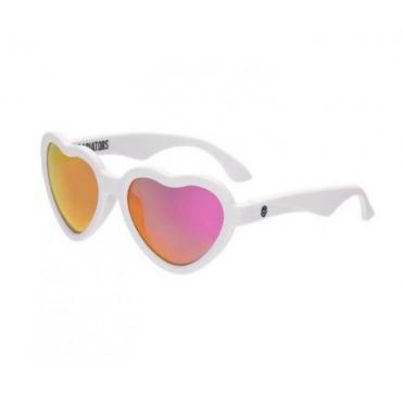 Babiators Blue Series The Swetheart White With Pink Polarized Mirror 6+ Ετών