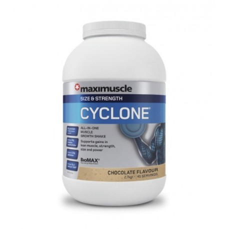 MAXINUTRITION MAXIMUSCLE CYCLONE ΣΟΚΟΛΑΤΑ 2,7kg