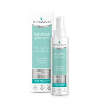 Pharmasept Balance Gentle Spray Απαλό Spray Για Πρόσωπο & Σώμα 100ml
