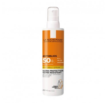 La Roche-posay Anthelios Spf50+ Ultra Protection Invisible Spray Shaka Protect Tech Αντηλιακό Σπρέι Σώματος 200ml