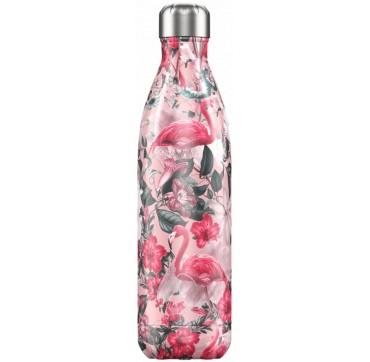 Chilly' s Bottle Tropical Flamingo Edition Reusable Bottle Ανοξείδωτο Θέρμος 750ml