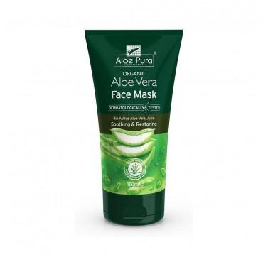 Optima Naturals Optima Organic Aloe Vera Face Mask 150ml