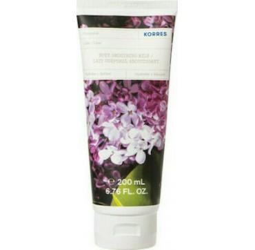 Korres Body Smoothing Milk Lilac Ενυδατικό Γαλάκτωμα Σώματος Πασχαλιά 200ml