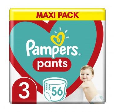 Pampers Pants No3 (6-11kg) 56τμχ