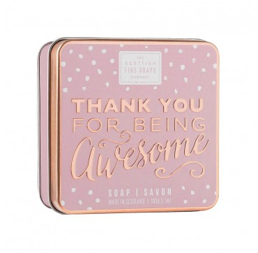 The Scottish Fine Soaps Thank You For Being Awesome Σαπούνι 100gr