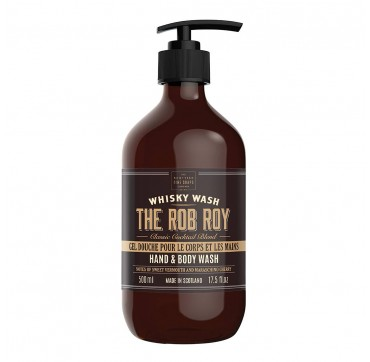 The Scottish Fine Soap Whisky Wash The Rob Roy Hand & Body Wash 500ml