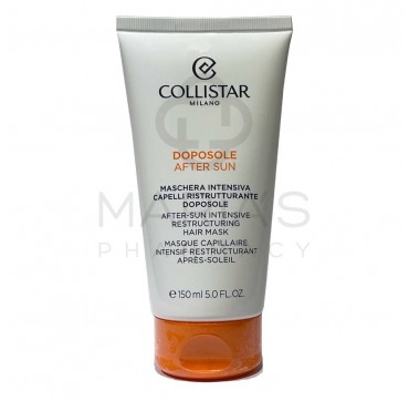 Collistar Special Hair Sun After-Sun Intensive Restructuring Hair Mask Sun Damaged Hair 150ml