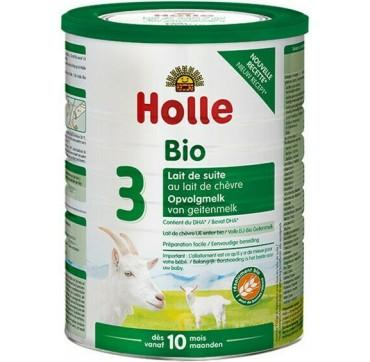 Holle Βρεφικό Βιολογικό Κατσικίσιο Γάλα Νο3 Από 12 Μηνών 800g