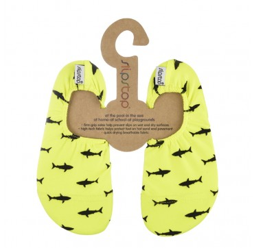 Slipstop Neon Sharks Αντιολισθητικά Καλτσάκια