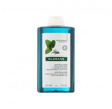 Klorane Aquatic Mint Anti-Pollution Detox Shampoo 400ml
