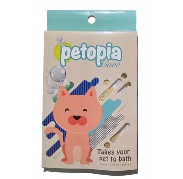 Petopia Care Loofah - Λούφα για περιποίηση κατοικιδίων (γάτα)