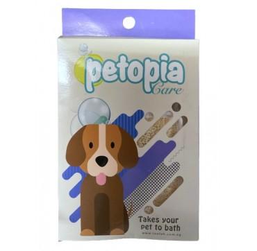 Petopia Care Loofah - Λούφα για περιποίηση κατοικιδίων (σκύλος)