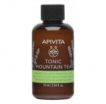 Apivita Tonic Mountain Tea Shower Gel 75ml