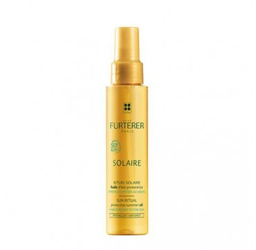 Rene Furterer Solaire Huile D'Ete Protectrice KPF50+ Αντηλιακό Λάδι Μαλλιών Πολύ Υψηλής Προστασίας 100ml.