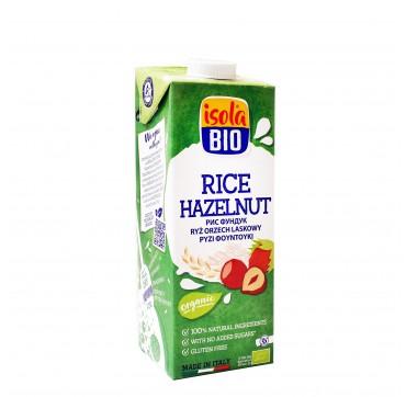 Isola BIO - Ρόφημα ρυζιού και φουντουκιού χωρίς γλουτένη - 1lt