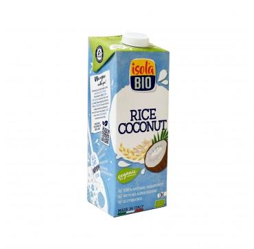Isola BIO - Ρόφημα ρυζιού με καρύδα χωρίς γλουτένη - 1lt