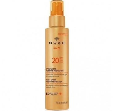 Nuxe Sun Milky Spray for Face & Body SPF20 150ml