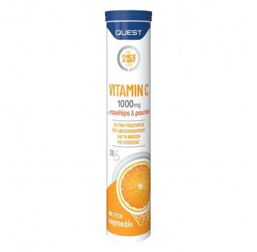 Quest Vitamin C 1000mg 20 αναβράζοντα δισκία