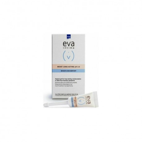 Intermed Eva Intima Minor Discomfort Moist pH 5.5 50gr & 9 εφαρμοστές