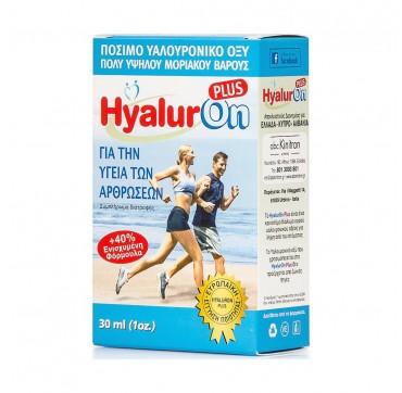 Abc Kinitron Hyaluron Plus Υαλουρονικό Οξύ Υψηλού Μοριακού Τεμάχιο 30ml