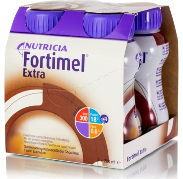 Nutricia Fortimel Extra Σοκολάτα 4X200ml