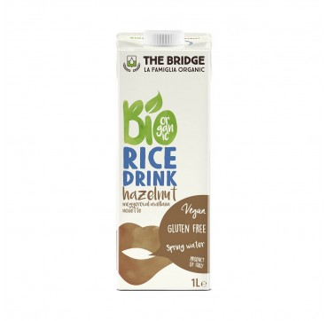 The Bridge Ρόφημα Ρύζι με Φουντούκι 1000ml