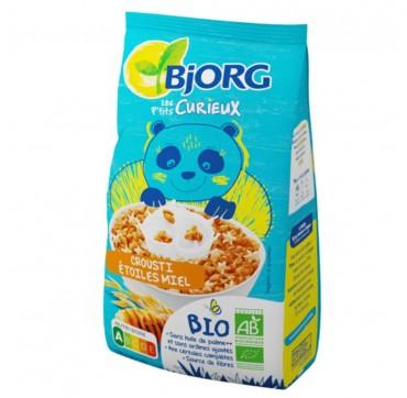 Bjorg Μείγμα Δημητριακών Ολικής με Μέλι Αστεράκια 375gr