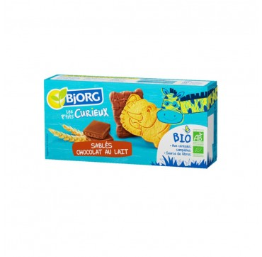 Bjorg Μπισκότα με Σοκολάτα Γάλακτος 192gr