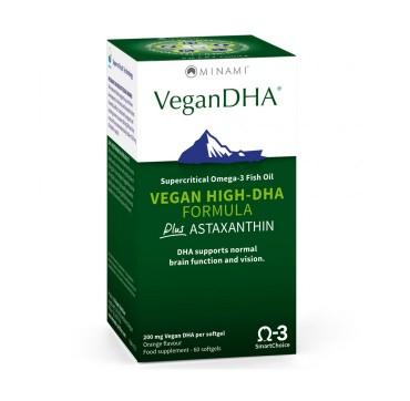Minami Nutrition VeganDHA (60caps) - Συμπύκνωμα Ωμέγα-3 για Χορτοφάγους