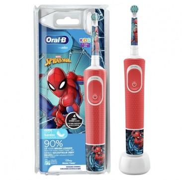 ORAL-B Kids Vitality Παιδική Ηλεκτρική Οδοντόβουρτσα Spiderman