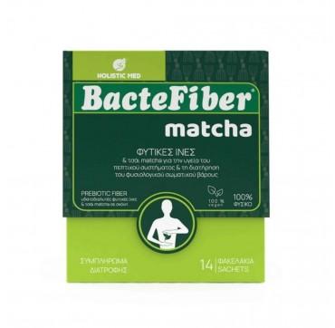 Holistic Med BacteFiber Matcha 14 φακελίσκοι x 5.5gr
