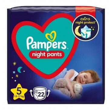 Pampers Night Pants Νο 5 (12-17kg) 22τμχ