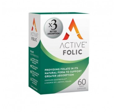 Bionat Active Iron Active Folic 60 κάψουλες