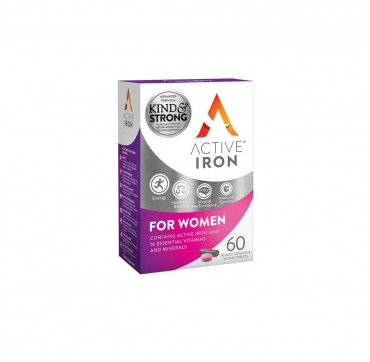 Active Iron For Women 30 κάψουλες & 30 ταμπλέτες