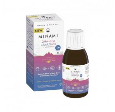 Minami Kids DHA+EPA Liquid + Vitamin D3 100ml