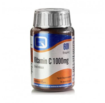Quest Naturapharma Vitamin C Timed Release 1000mg 60 ταμπλέτες