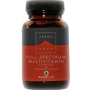 TERRANOVA FULL-SPECTRUM MULTIVITAMINS COMPLEX 50caps