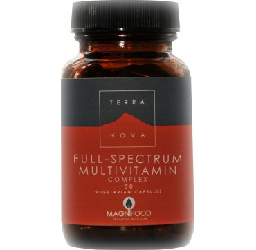 TERRANOVA FULL-SPECTRUM MULTIVITAMIN COMPLEX 50caps