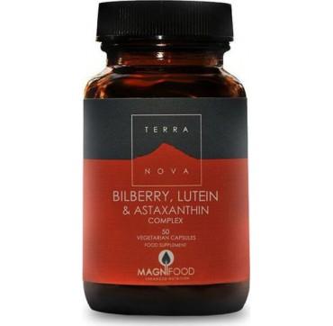 Terranova Bilberry-lutein & Astaxanthin Complex 50caps