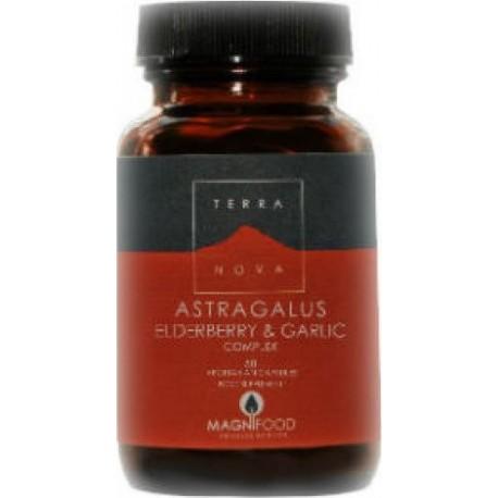 Terranova Astragalus Elderberry & Garlic Complex 50caps