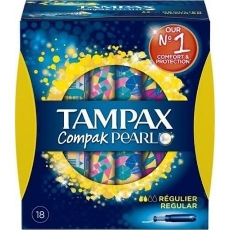 TAMPAX COMPAK REGULAR 18τεμ.