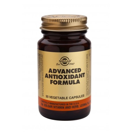 SOLGAR ADVANCED ANTIOXIDANT FORMULA 30vcaps